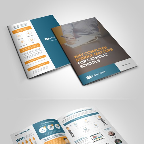 Educational Computer Science Program needs Stylish and Modern Brochure!