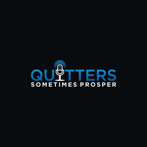 Create and inspiring logo for a podcast relating to business and entrepreneurship