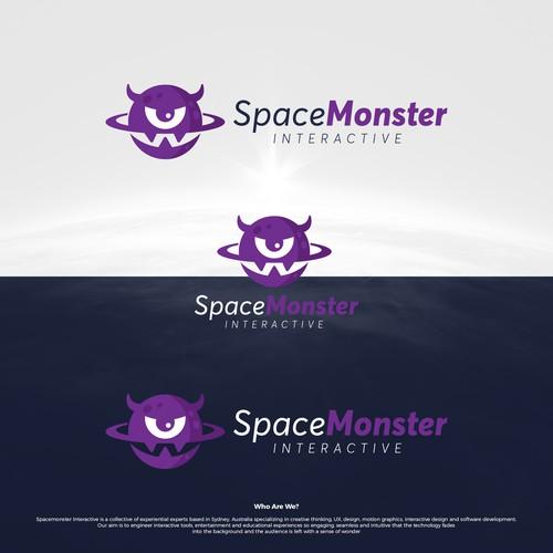 SpaceMonster Logo