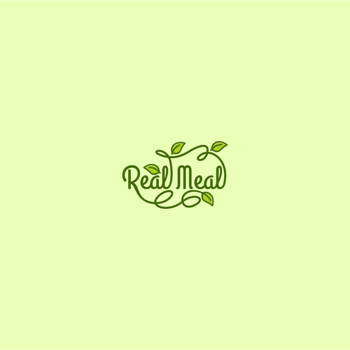 Logo concept for Real Meal
