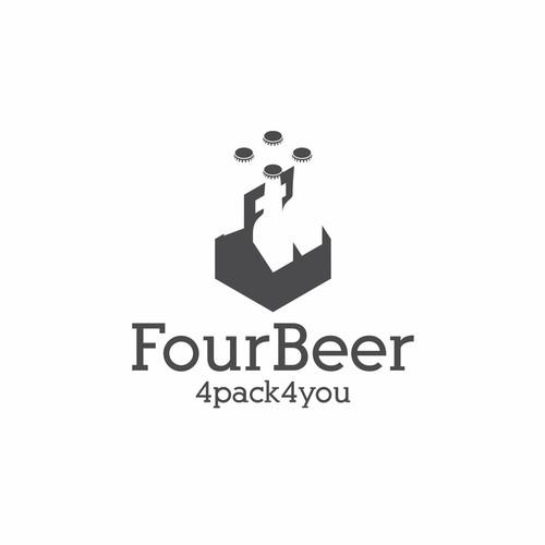 4Beer logo design concept