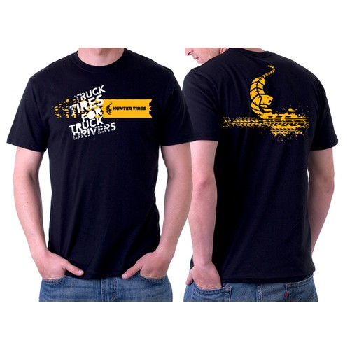Hunter Tires T-Shirt Design
