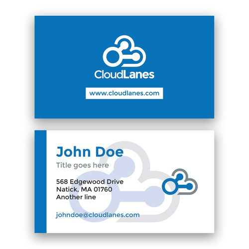 A business card for CloudLanes