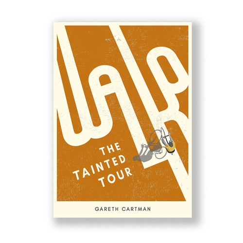 "Book cover concept for ""Walko – The Tainted Tour"""