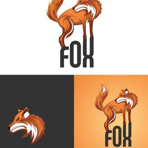 Fox logo design