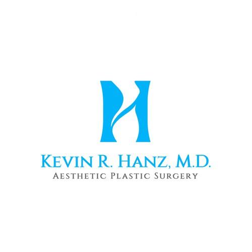 Unique lettermark logo for aesthetic plastic surgery