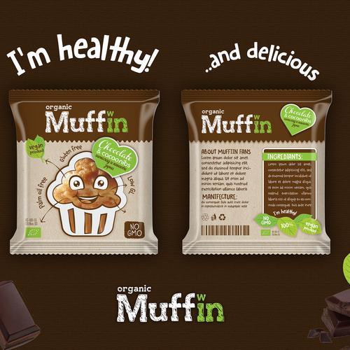 Organic, healthy, vegan product.