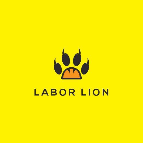 Clean Logo design for Labor Lion