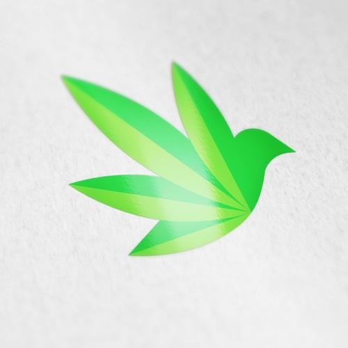 Dove Bird Logo for new Statup Company