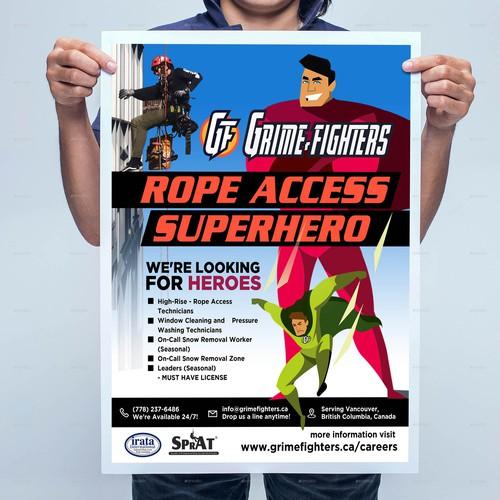 Rope Access Superhero