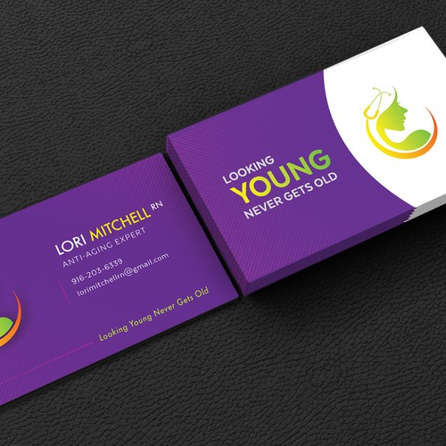 Business card for Lori Mitchell