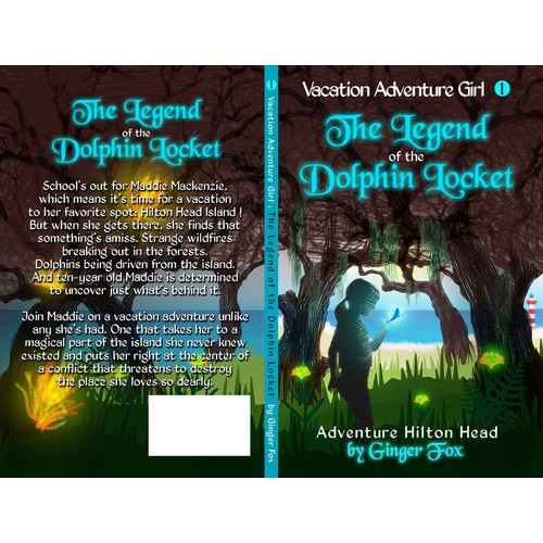 Create the first book cover for a new children's book series