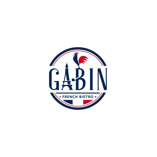 Luxury & Vintage Logo for GABIN French Bisrto Restaurant