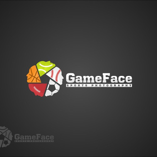 Create the next logo for GameFace Sports Photography