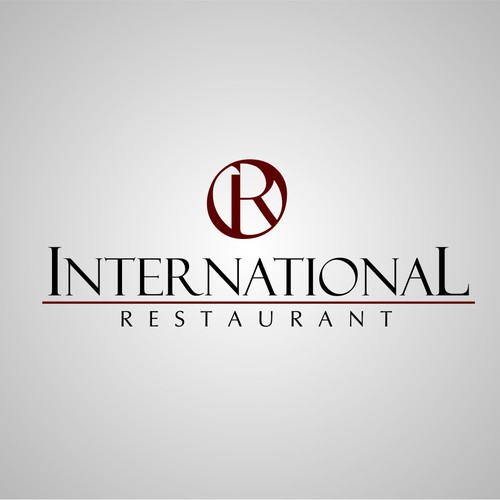 New logo wanted for International Restaurant