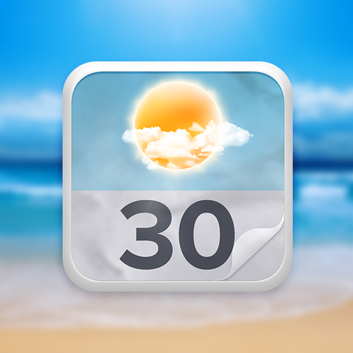 IOS Icon for Horizon Weather/Calendar app