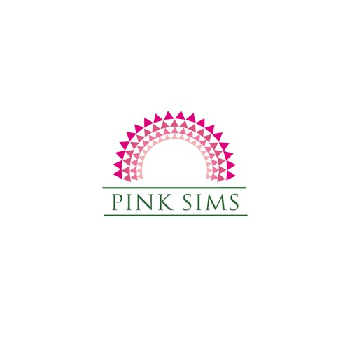 pink sims.