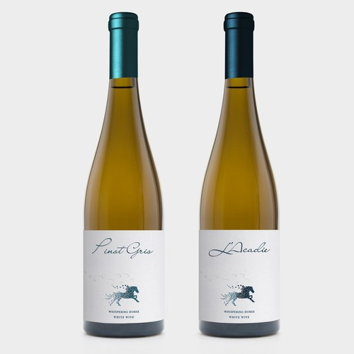 Clean label concept for white wine