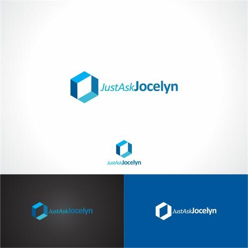 simple, cube, math logo design