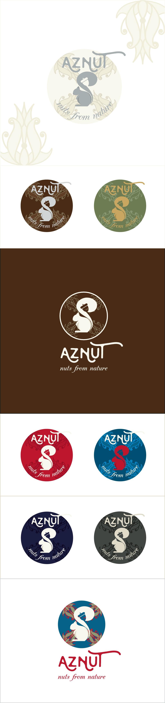 Create an attractive LOGO for AZNUT organic hazelnuts company