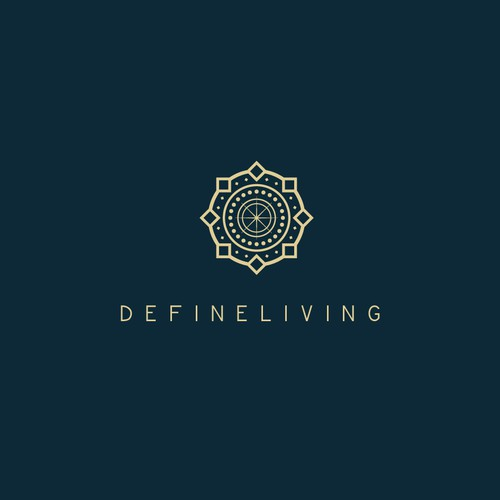 Geometric logo for devineliving
