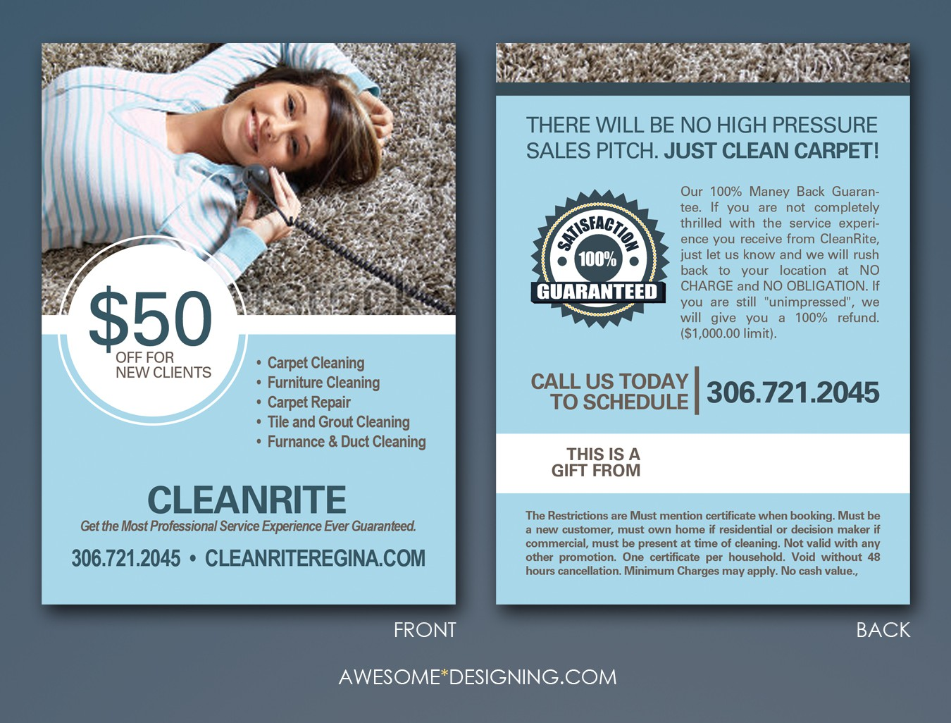 CleanRite needs a new business or advertising