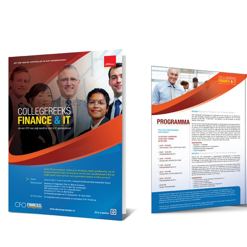 Brochure Business Training Course Finance & IT