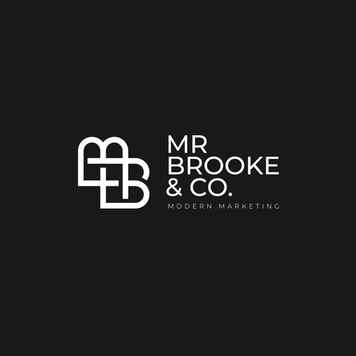 Logo concept for creative consultancy, Mr Brooke