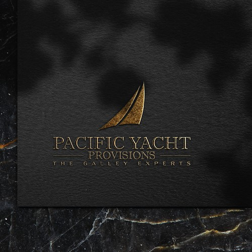 Elegant logo for yacht business.