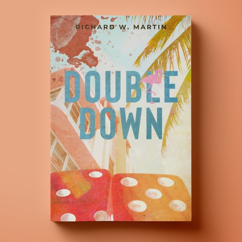 "Cover for Mystery Novel ""Double Down"""