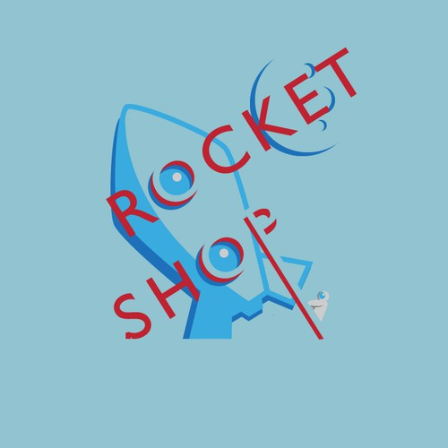 Help The Rocket Shop with a new logo
