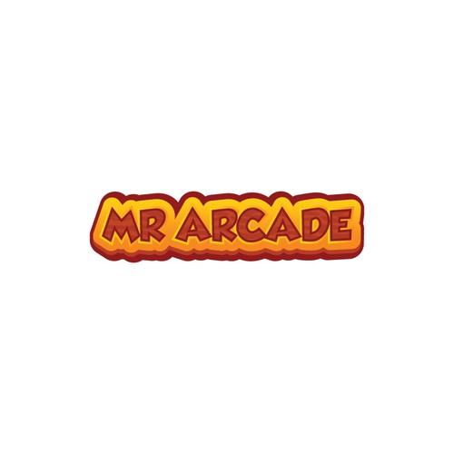 Retro logo concept for Mr. Arcade