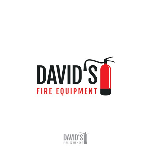 Logo for fire equipment business