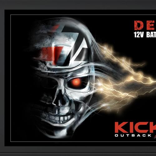 KICK ASS illustration for power box