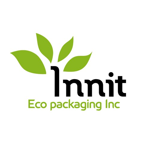 """Create an original """"green"""" logo for a redesigned eco food packaging"""