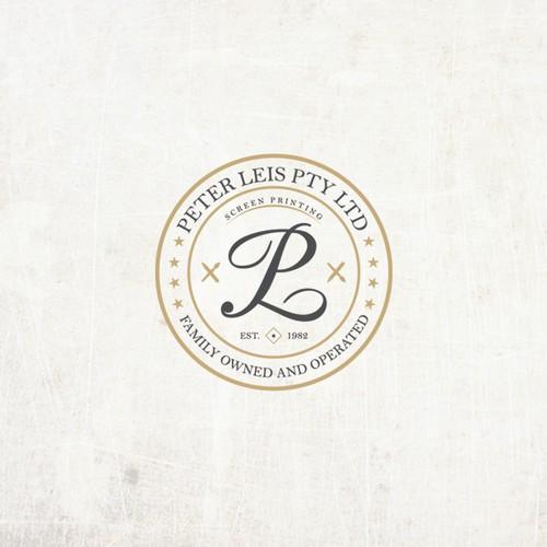 Peter Leis Pty Ltd logo concept