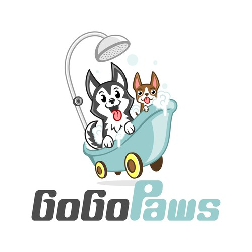 Fun Logo for Dog Grooming Business
