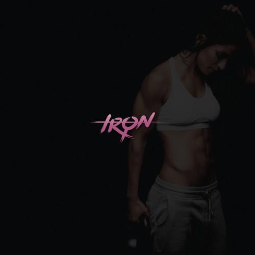 "Logo design for ""IRON"""