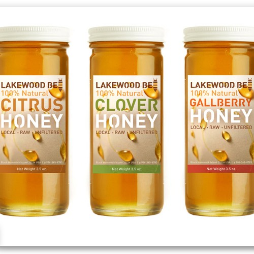 Lakewood Bee needs a new print or packaging design