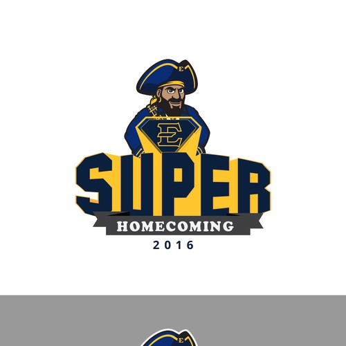 super homecoming logo concept
