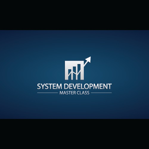 Design a powerful logo for System Development Master Class