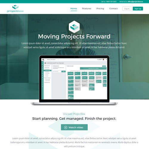 Project Management Software website
