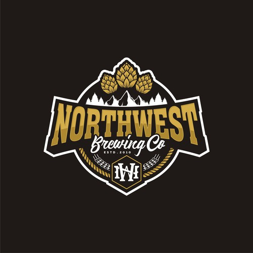 Logo - NORTHWEST Brewing Co