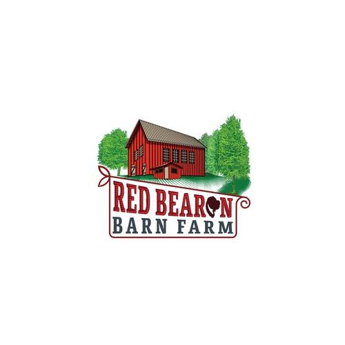 Barn farm logo design
