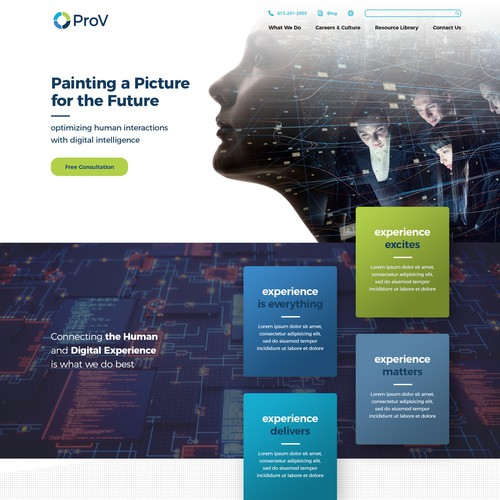 Web Design for ProV