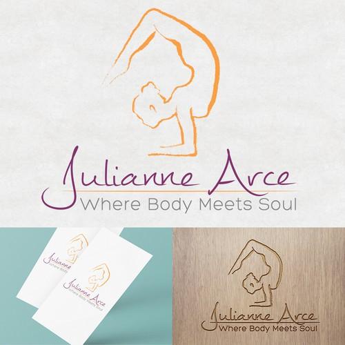 Personal Yoga Logo Design