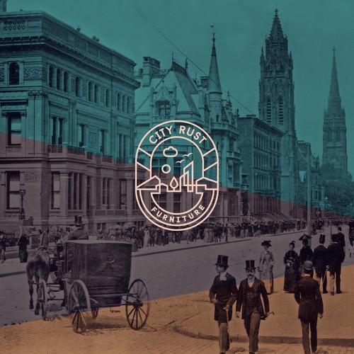 City Rust / Logo & Business Card design proposal