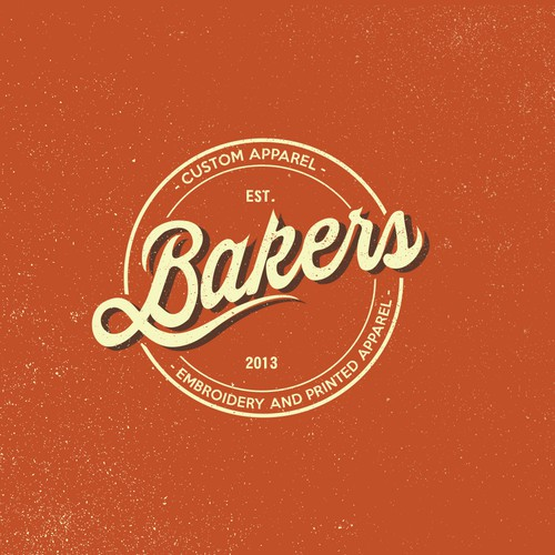 Bakers Embroidery and printed