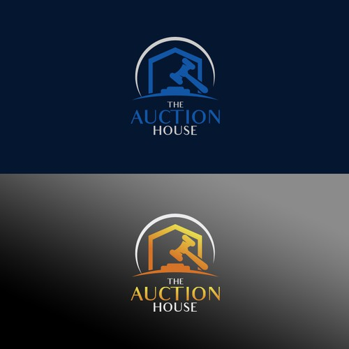 Logo concept for The Auction House