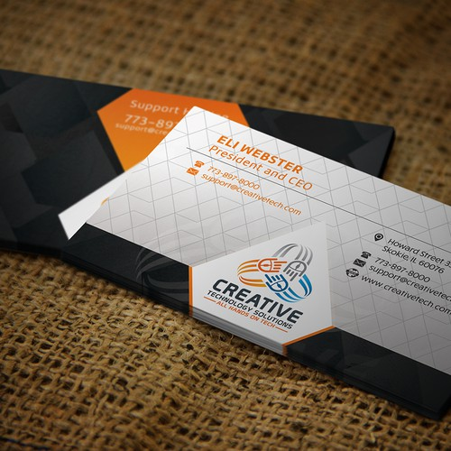 Creative Business Card for Creative Tech!